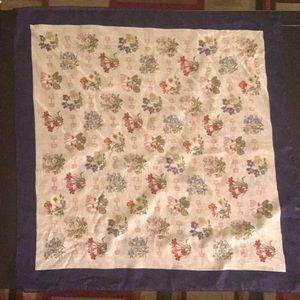 Authentic Floral Gucci scarf